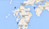 九州の空間放射線量