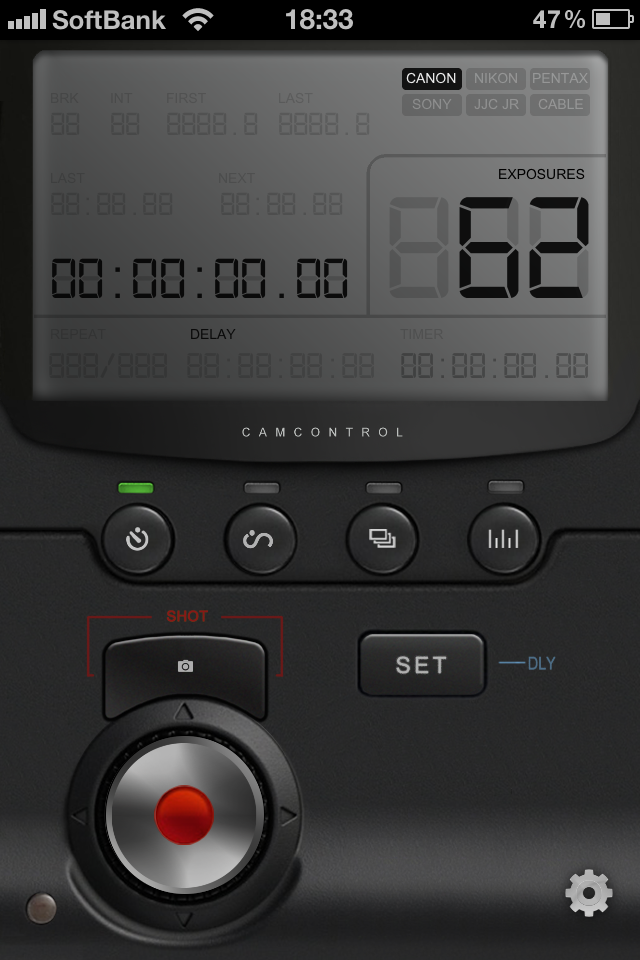 DSLR Camera Control iR