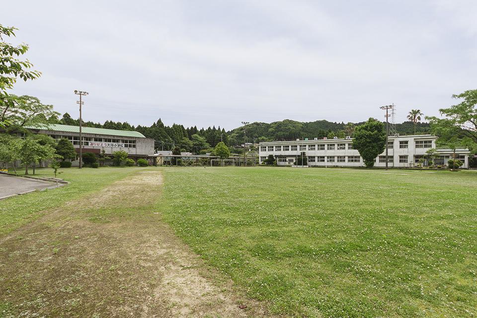 南さつま市・旧大坂小学校