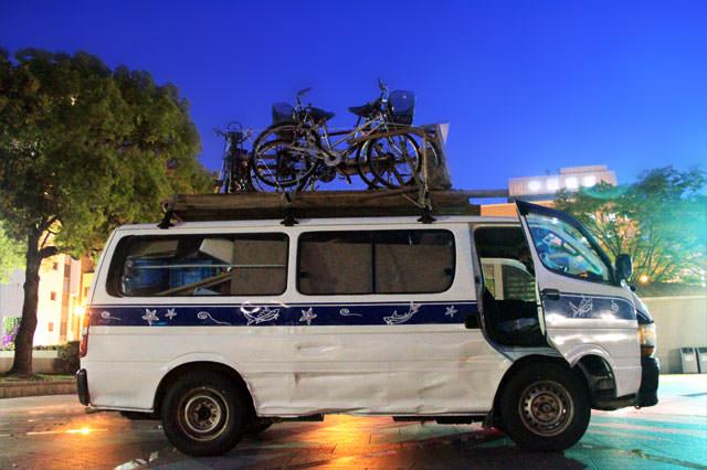 鹿児島電力 自転車発電機