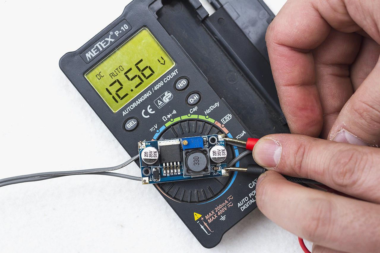 わがや電力、降圧回路の使い方