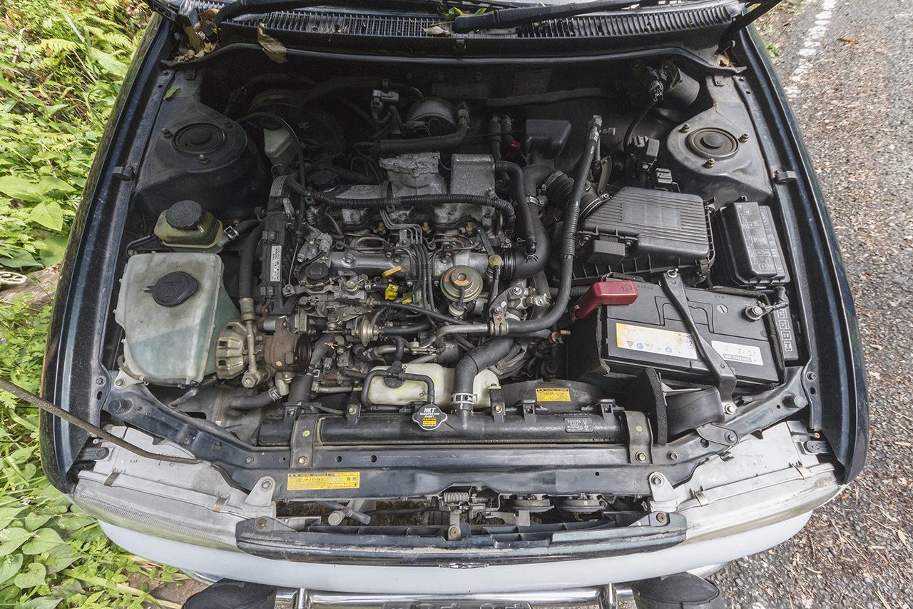 ディーゼル車を廃油で走らせる!トヨタ カローラフィールダー