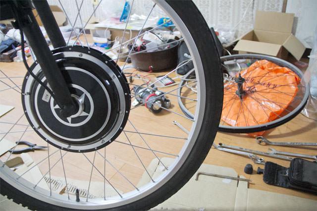時速60km自転車を作る。02