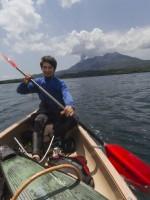 無人島、桜島の新島に潜入調査!